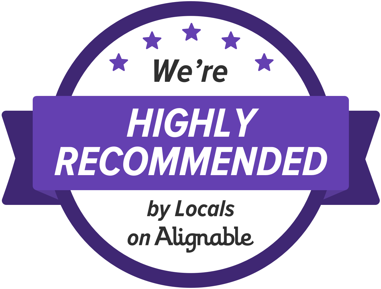 Alignable Stoneman Highly Recommended Badge